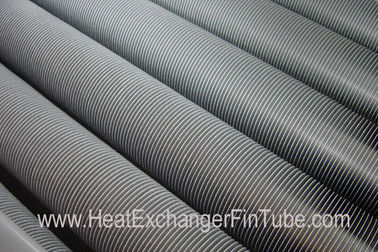 Extruded High Fins Tubes Machine with raw materials CS / SS / AS / Copper / Alu / Titanium Tubes